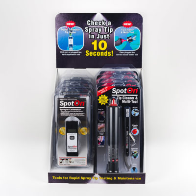 SpotOn Counter Display With SC-1 And Tip Cleaner and Multi-Tool
