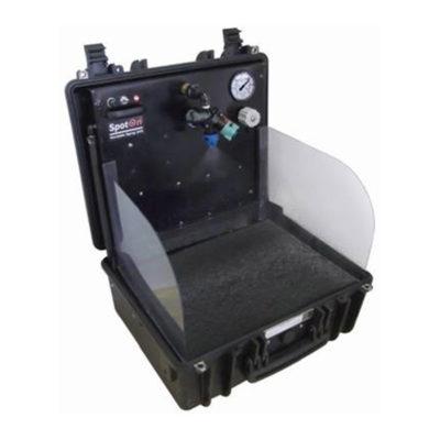 SpotOn Portable Spray Case, open