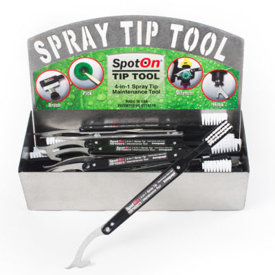 SpotOn® Spray Tip Tool Counter Display